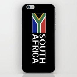 South Africa: South African Flag & South Africa iPhone Skin