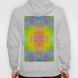 Prisms Play of Light 1 Mandala Hoody
