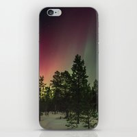 northern lights iPhone & iPod Skins featuring Northern Lights  by Limitless Design