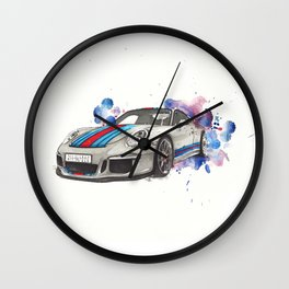 GT3 martini Wall Clock