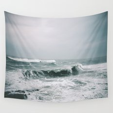 Waves III Wall Tapestry