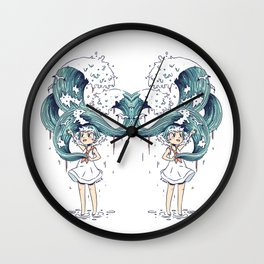 Daughter of the Sea Wall Clock