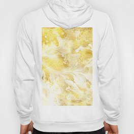 Golden Marble Abstract Hoodie
