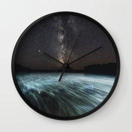 September Mist Wall Clock
