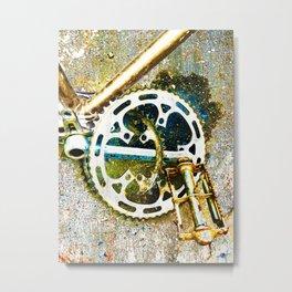Gear Metal Print