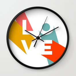 This is Love Wall Clock
