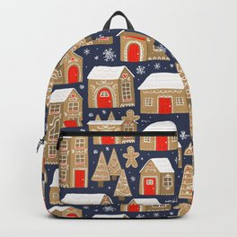 Gingerbread Village Backpack