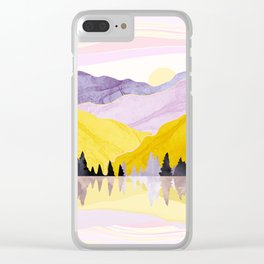 Spring Lake Clear iPhone Case
