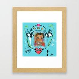 Clingy Framed Art Print