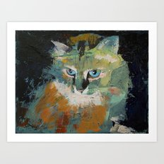 Himalayan Cat Art Print