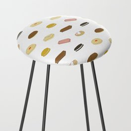 biscui - biscuit pattern Counter Stool