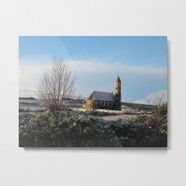 Dunlewey Church Metal Print