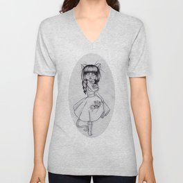 Princess Felis Unisex V-Neck