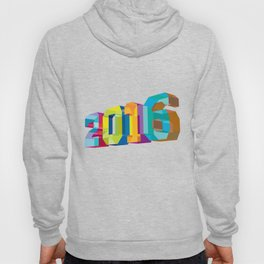 2016 New Year Low Polygon Hoody