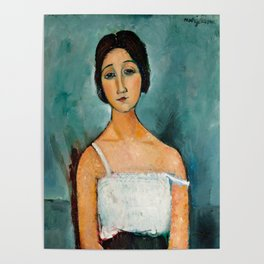 "Amedeo Modigliani ""Christina"" Poster"