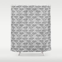 bats Shower Curtains featuring Bats!! by Sophie Corrigan