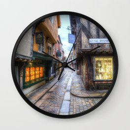 The Shambles Street York Wall Clock