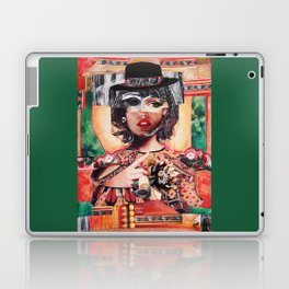Amour rouge corail Laptop & iPad Skin
