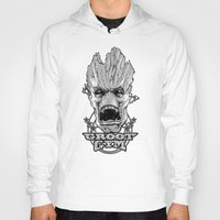 groot Hoodies featuring GROOT GYM by ADAMLAWLESS