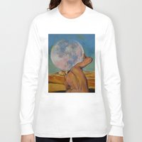 atlas Long Sleeve T-shirts featuring Atlas by Michael Creese