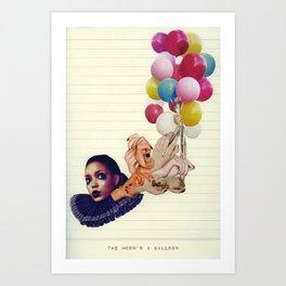 The Moon's a Balloon Art Print