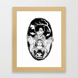 KUROKEN Halloween version Framed Art Print