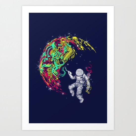 ART'stronaut Art Print