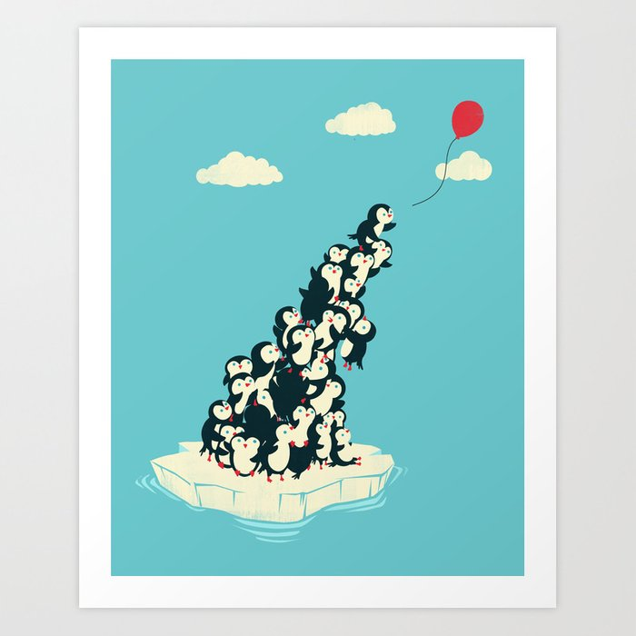 Balloon! Art Print