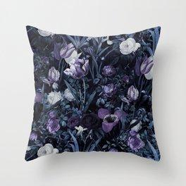 EXOTIC GARDEN - NIGHT XII Throw Pillow