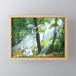 Unicorn Foal II Framed Mini Art Print
