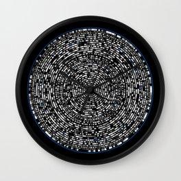 genome mosaic 7-1 Wall Clock