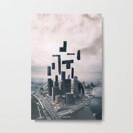 City Game Metal Print