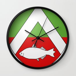 Coat Of Arms Of Constantine_2_(French_Algeria) Wall Clock