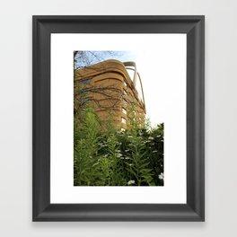 Longaberger Basket: Abandoned Framed Art Print