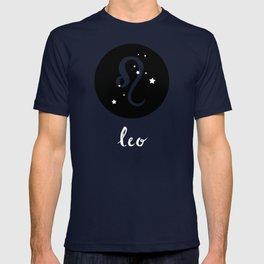 Leo Zodiac Watercolor T-shirt
