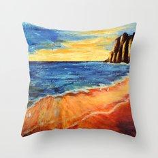 The reef | Le récif Throw Pillow