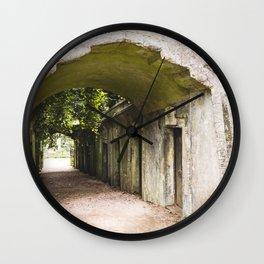 Highgate Cemetery, London - West Cemetery Wall Clock