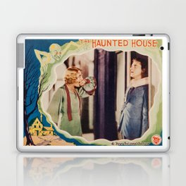 The Haunted House, vintage horror movie poster 1928 Laptop & iPad Skin