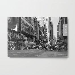 42nd Street Times Square 2018 Metal Print