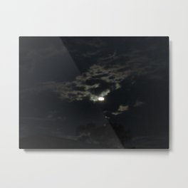 Is that the moon Metal Print