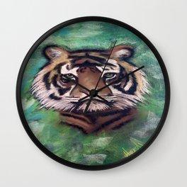 Soulful Tiger Wall Clock