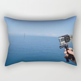 Gopro is famouse Rectangular Pillow