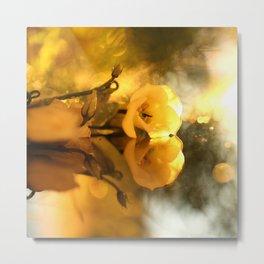 Flower Reflection #decor #society6 #buyart Metal Print