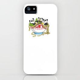 Ramen Kawaii Panda T-Shirt I Japanese Food Lover iPhone Case