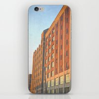 detroit iPhone & iPod Skins featuring DETROIT STRONG by Teresa Chipperfield Studios