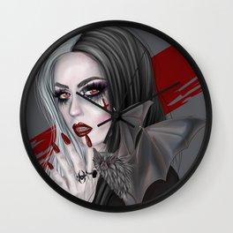 Vampire Portrait Wall Clock