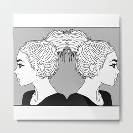I like big Buns Metal Print