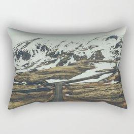 iceland road trip Rectangular Pillow