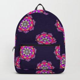 Mandala in Purple Backpack