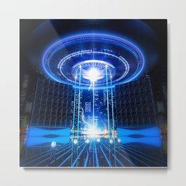 Future Sound Metal Print